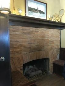 Billiards Fireplace