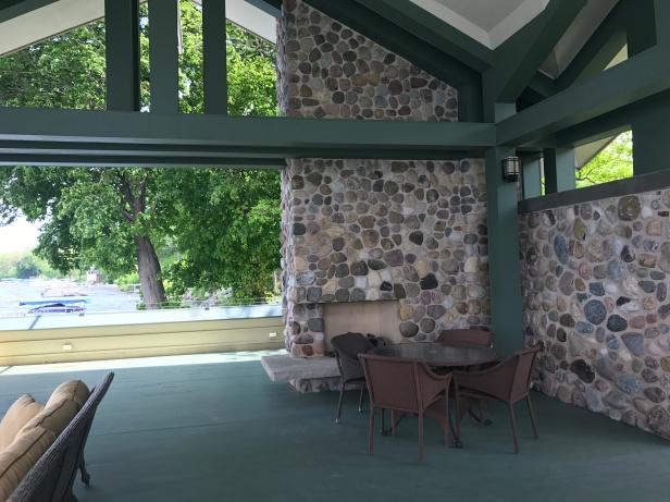 Boathouse Fireplace