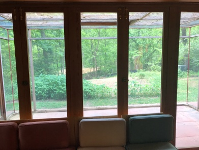 Living Room View to Screened In Porch